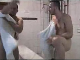 Hot shower room sex! | gays tube  room  shower