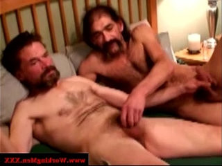 Mature gay guys up close barebacking | bareback  gays tube  hairy guy  mature