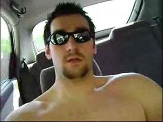 Huge cumshot on the car | car xxx  cumshots  dudes  huge gay