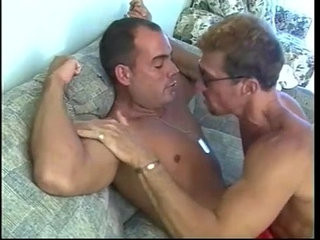 Hard bodied muscled beach lifeguards pounding ass holes on couch | ass collection   beach   hardcore   muscular   pounding