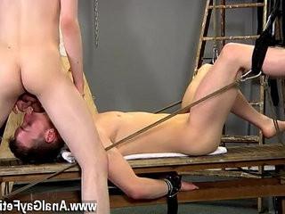 Gay jocks Aaron use to be a gimp boy himself, and he picked up a lot | blackhair  boys  gays tube  jocks