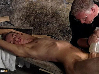 Wanked to a cum load by the master | cums  master  twinks  wanking