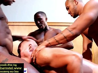 Ebony interracial group | cocks   ebony gay   group film   interracial