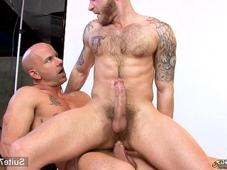 Married guy gets banged by a bald gay | banged   bears best   gays tube   getting   married
