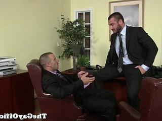 Uniformed gay office hunk pounding ass | anal top   ass collection   gays tube   hunks best   office   pounding