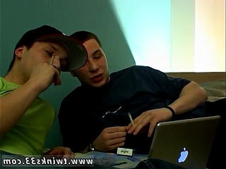 Hot gay Best buds chainsmoke and check out some porn together. | gays tube  smoking  some  together