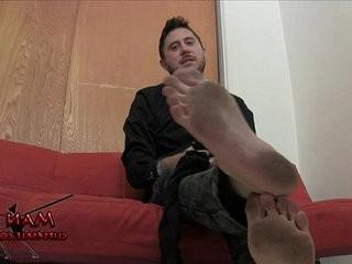 Worship jasons dirty feet | dirty best  feet top  foot  worship