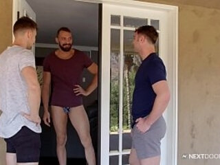Oops! Johnny Booty Calls 2 Michaels By Accident - NextDoorBuddies | booty