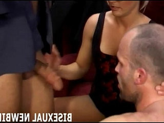 I will make sure you enjoy your first threesome | bisexual  enjoying  first  forced  threesome
