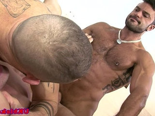 Muscled british group ass buggering | ass collection  british  group film  muscular