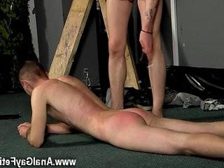 Free gay cock galleries Slave Boy Fed Hard Inches | boys  cocks  footfetish  gays tube  hardcore  slave