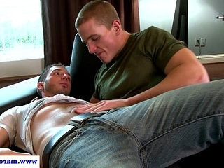 Straight guy seducing lucky stud | lucky gay   straight   stud